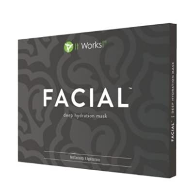 It Works - Caja de 4 mascaras por la cara
