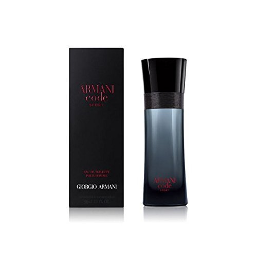 Ginger Mandarin After Shave - Giorgio Armani Code Sport for Men Eau De Toilette Spray, 2.5 Ounce