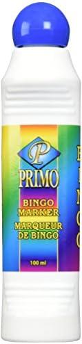 Primo Bingo Markers 4 Ounces-Blue