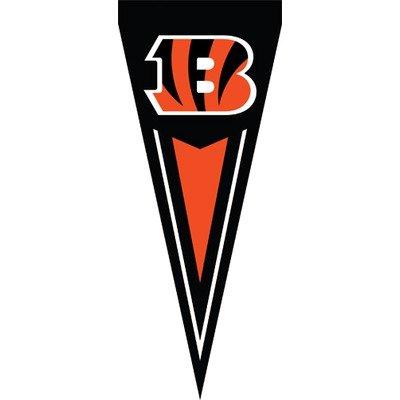 Cincinnati Bengals Black B Yard Pennants 34