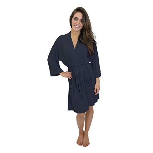 Knit Kimono Robe - 4