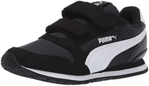 Puma Unisex-Kids St Runner NL Sneaker, Rock Ridge White, 13 US Little Kid
