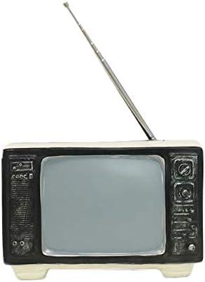 BALALALA Antiguo televisor TV Decoración de hojalata Antiguo Vintage Modelo Vintage Accesorios de fotografía, Comedor Muebles Accesorios: Amazon.es: Hogar
