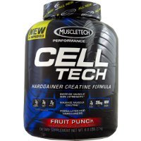 MuscleTech Performance Series Cell-Tech Fruit Punch -- 5.95 lbs (Best Muscle Building Stack For Hardgainers)