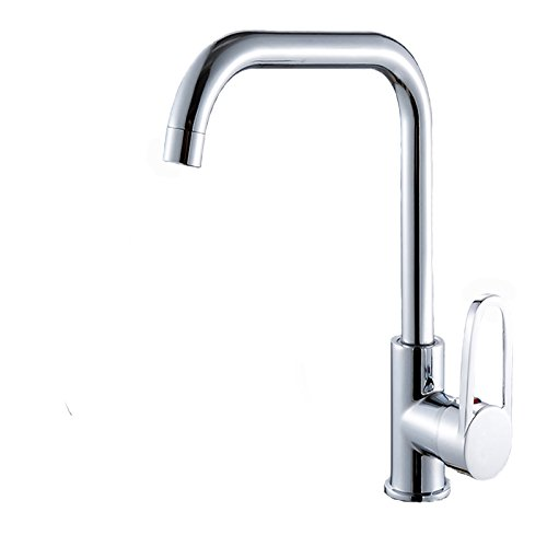 SUHANG All Brass Kitchen Faucet Dish Basin Swivel Faucet Stainless Steel Sink Hot And Cold Faucet