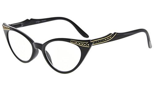 Eyekepper cateyes Gris gafas mujer 0 Negro 00 para sol de Lens gw6dqw