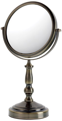 Danielle Brushed Vanity Mirror, Bronze