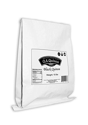 OA QUINOA | ORGANIC ROYAL QUINOA (Black, 10 Lb) by OA QUINOA (Image #1)