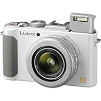 Panasonic Lumix Lx7 10.1Mp Full Hd 60P Digital Camera With Fast & Bright Leica Optics-White (International Model)
