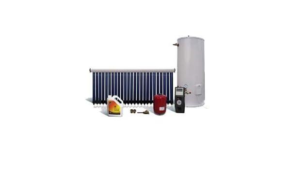 Calentador de agua solar forzado, para balcones o terrazas, depósito de 200 L, para 4 personas ...: Amazon.es: Bricolaje y herramientas