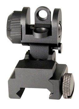 Aim Sports AR-15 A2 Dual Aperture Rear Flip Up Sight (Rear Sight Aperture)