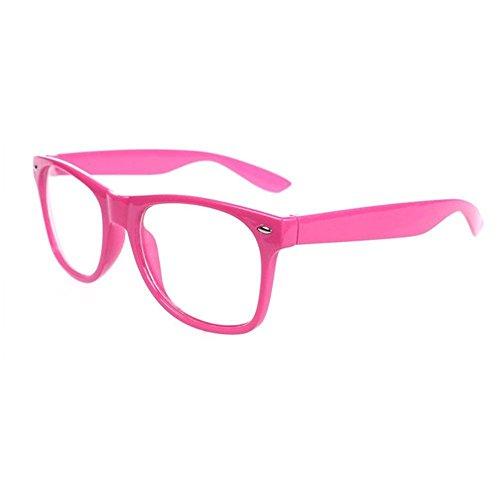 FancyG Classic Retro Fashion Style Clear Lenses Glasses Frame Eyewear - - La Eyewear Fashion