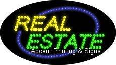 Real Estate Flashing & Animated LED Sign (High Impact, Energy Efficient)