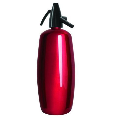 Liss 2-qt. Liss Professional Stainless Steel Soda Siphon, Red. Liss Siphon
