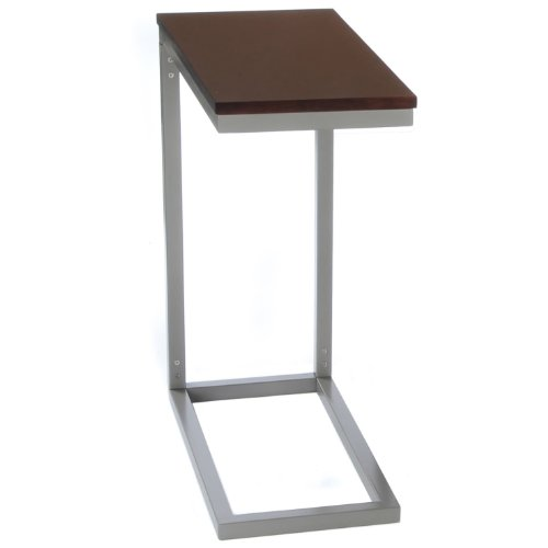 Camden Collection Bay Shore Collection Modern Side Table, Espresso
