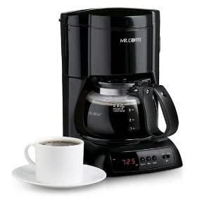 Mr. Coffee NLX5 4-Cup Programmable Coffee Maker