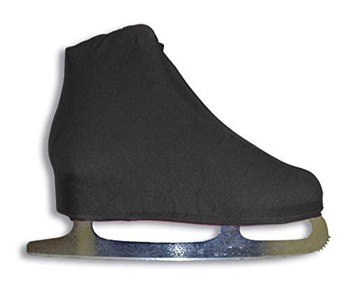 oldzon Universal Figure Skate Cover Lycra Stretch Ice Skate Boot Cover Black 5 SCB with Ebook (Ice Lycra Skate Cover Boot)