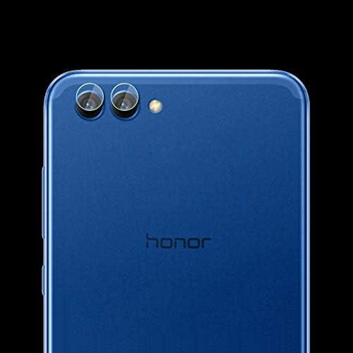 WTYD 電話アクセサリー Huawei Honor V10用0.3 mm 2.5 D透明リアカメラレンズプロテクター強化ガラスフィルム