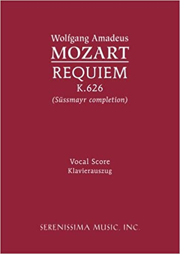 >BETTER> Requiem, K. 626 - Vocal Score (Latin Edition). Halter tested Monroe aunque berlina imagen