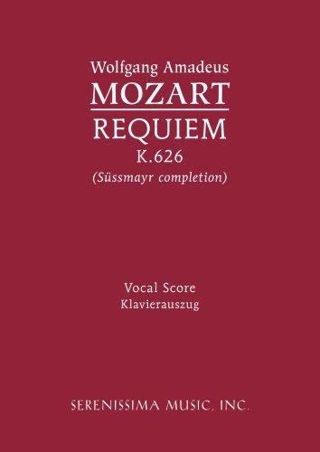 Requiem, K. 626 - Vocal score (Latin - 626 Us