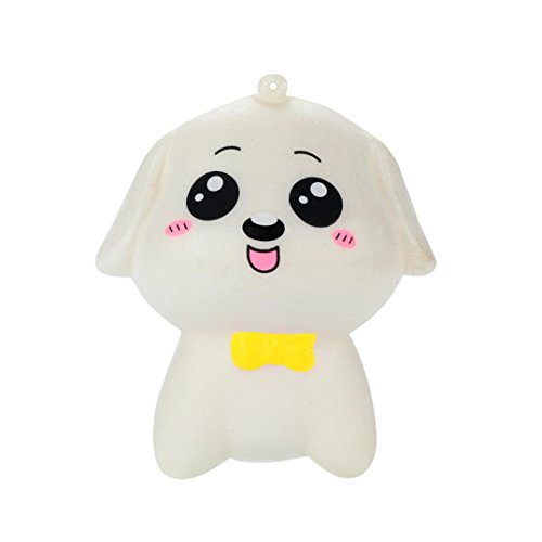 Lavany Squishies Toys,Cute Mini Dog Animal Squishy Slow Rising Jumbo Squishies Toy Scented Squeeze Toy for Adult Party (B) -