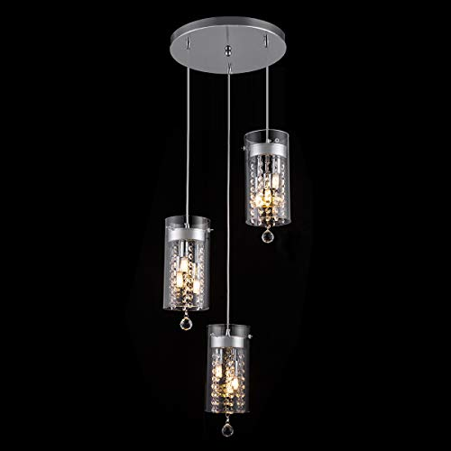 Glass Pendant Lighting For Kitchen Islands in US - 8