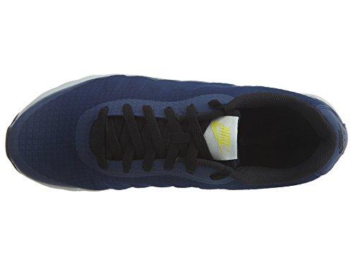 Nike Air Max Invigor Se Mezzanotte Blu Scuro Foto Blu Mens Scarpe Da Corsa 870614401 Binario Blu / Nero-luce Osso-elettrolime