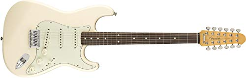 Fender FSR MIJ Traditional Stratocaster XII 12-String Electric Guitar (Olympic White)