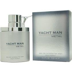 YACHT MAN METAL par Myrurgia EDT SPRAY 3.4 OZ for MEN