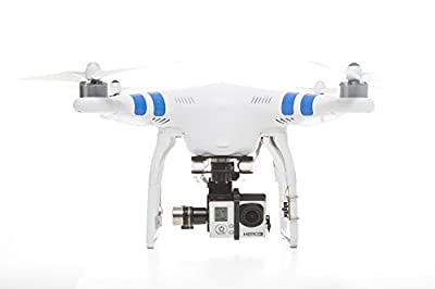 New V1.5 DJI Phantom 2 with Zenmuse H3-3d 3-axis Gimbal, Includes Upgraded Remote Control and Props