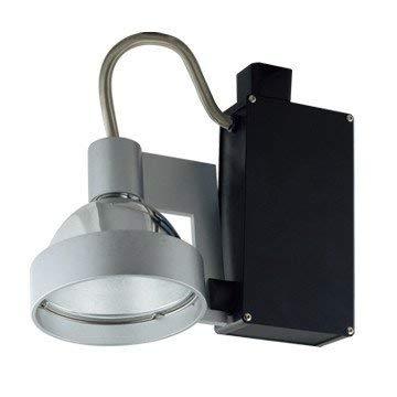 (Jesco Lighting HMH701T4NF39B Contempo 701 Series Metal Halide Track Light Fixture, T4 24-Degree Narrow Flood, 39 Watts, Black Finish)