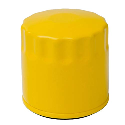 HOODELL 52 050 02 Oil Filter with Gloves, Pro Performance for Kohler 52 050  02 S, Briggs Stratton 491056, Cub Cadet LTX 1040, Lawn Mower/Tractor