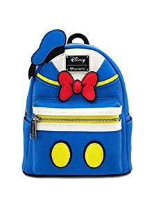 (Loungefly Donald Duck Faux Leather Mini Backpack Standard)