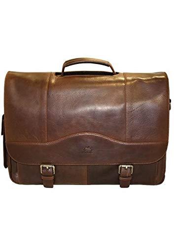 (Mancini Leather Goods Porthole 15.6