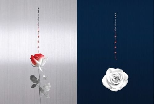 B.A.P [ROSE] 6th Single Album Random Ver CD+Photobook+Photocard+Tracking Number K-POP SEALED