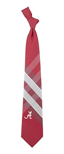 NCAA Woven Poly Grid Necktie With Team Logo