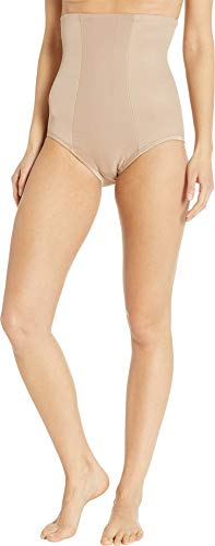 Miraclesuit Extra Firm Control High-Waist Brief, S, Stucco - Double Gusset Brief