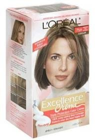 L'Oreal Excellence Creme Triple Protection Color Creme, Level 3 Permanent, Medium Ash Blonde/Cooler 7-1/2A -  L'Oreal Paris, LH21068