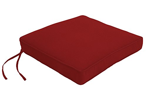 Easy Way Products Double Piped Sewn Closed Chair Pad, 21
