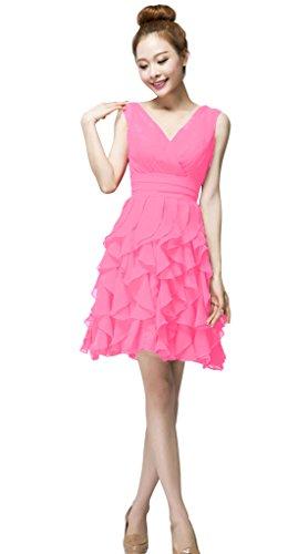 Vimans Damen A-Linie Kleid rosa (1) fkyHZ7Q