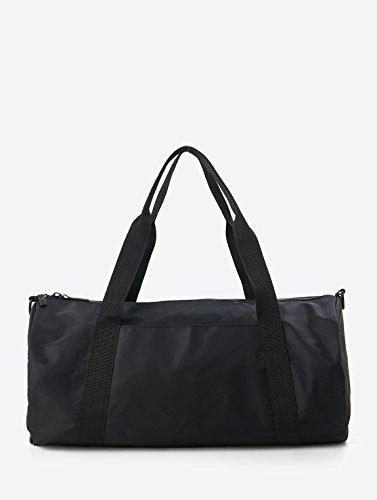 Bench Damen BAWX000942 Sporttasche, Black Beauty, 57.6 x 34.8 x 8 cm