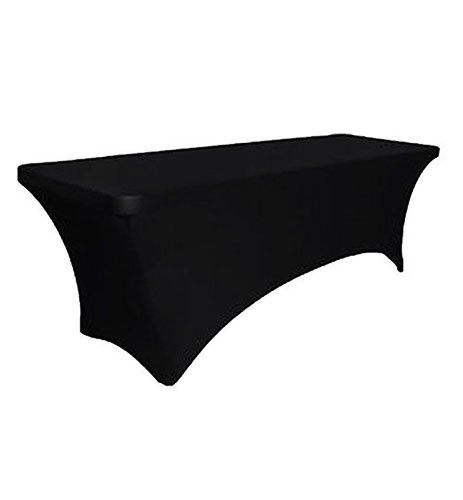 amazon com gfcc spandex fitted stretchable elastic table covers rh amazon com elastic table covers square elastic table covers walmart