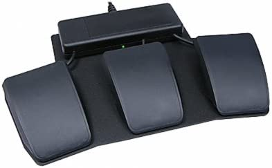 JSB Triple Pedal Three foot pedals mounted on base