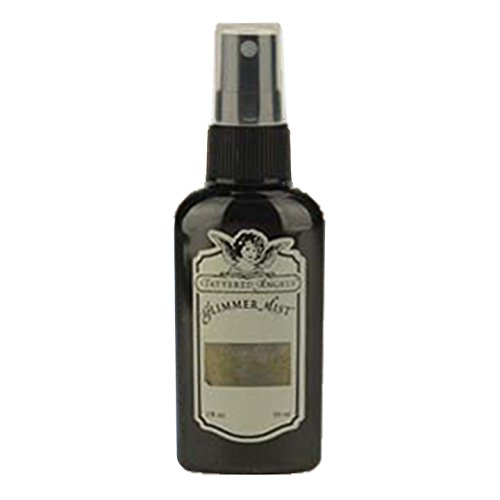 TATTERED ANGELS Glimmer Mist 2 Ounce-Black - Angels Glimmer Mist Tattered