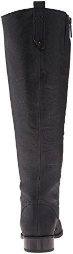 Women's West Leather Nine Boot Winter Black Wide Nicolah 51n4q