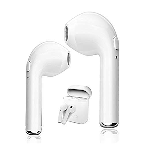 TOPING Stereo Wireless Earbuds, Noise Cancelling Bluetooth Headphones Earphones for Workout Running Gym and Compatible for All Cellphones