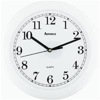 Advance Analog Hanging Wall Clock Color: White