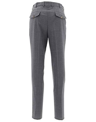 Pantalon Coton M032pe1920c079 Gris Brunello Cucinelli Homme qxRIwXH