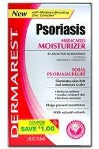 Dermarest psoriasis hydratant médicamenteux, les boîtes (pack de 6)