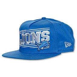 (New Era NFL Angular AFrame Snapback Hat (M/L) (Detriot Lions))